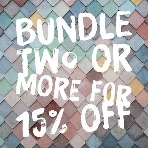Other - Bundle 2+ for 15% off